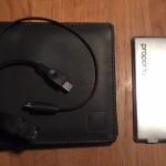 Test : Portefeuille en cuir Proporta avec batterie externe