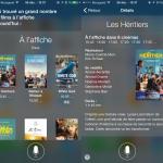 Siri permet de rechercher des séances de cinéma