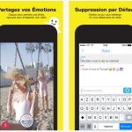 Snapchat : optimisé pour l'iPhone 6 et légendes améliorées