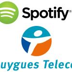 Spotify gratuit chez Bouygues Telecom en 2015