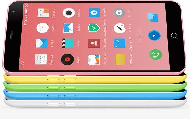 Meizu M1 Note : un clone iPhone 5C format iPhone 6 Plus
