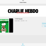 Charlie Hebdo : l'application disponible sur iPhone & iPad