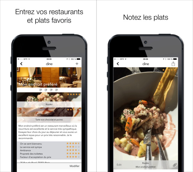 Dine-iPhone