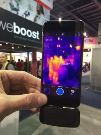 CES 2015 : FLIR One, une caméra thermique pour iPhone 6