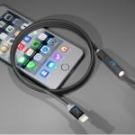 SONICable : un câble lightning qui recharge l'iPhone 2 fois plus vite
