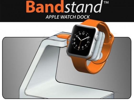 CES 2015 : Standzout Bandstand, un dock pour recharger l'Apple Watch