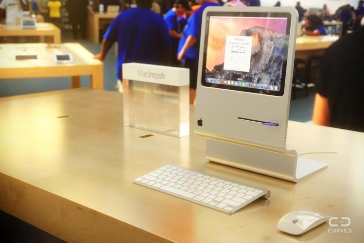 Concept : un iMac qui rappelle le premier Macintosh 128K