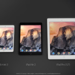 Concept : iPad Air 2 vs iPad Mini 3 vs iPad Pro