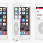Concept : un étui transformant l'iPhone 6 en iPod Classic