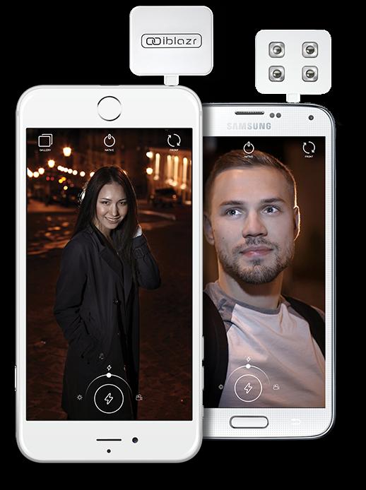 Test : Flash LED iblazr blanc pour iPhone & iPad