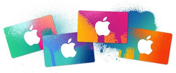 Carte Cadeau iTunes - Black Friday Apple : des cartes-cadeaux allant jusqu'à 200€