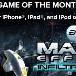 Mass Effect Infiltrator gratuit un mois sur iPhone et iPad
