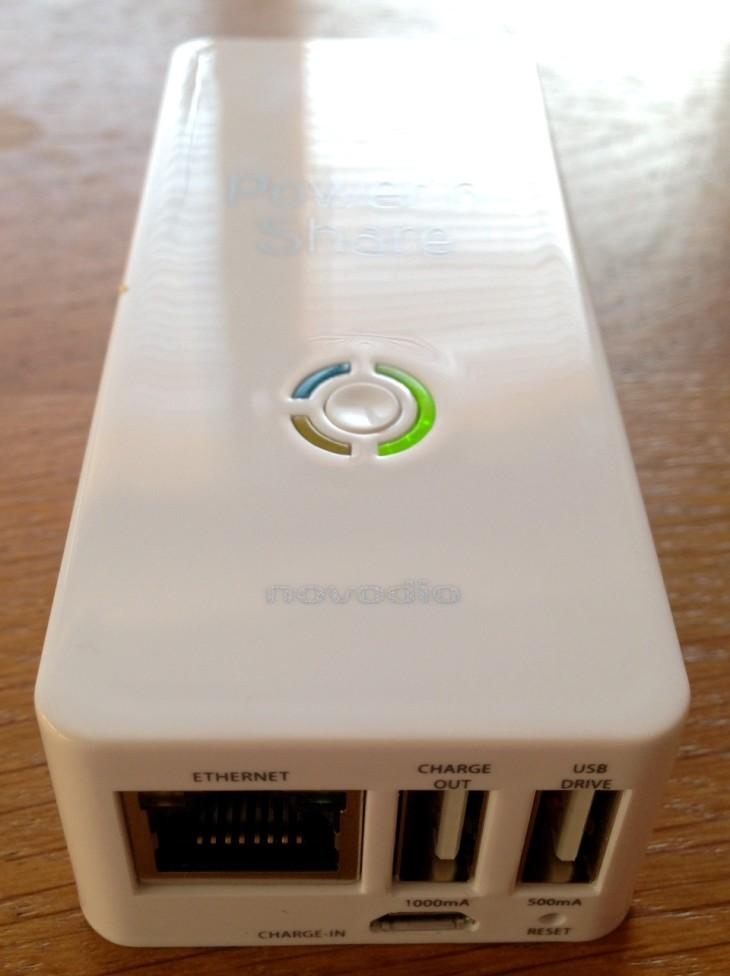 Test : Novodio Power'n Share, boîtier multimédia & batterie externe