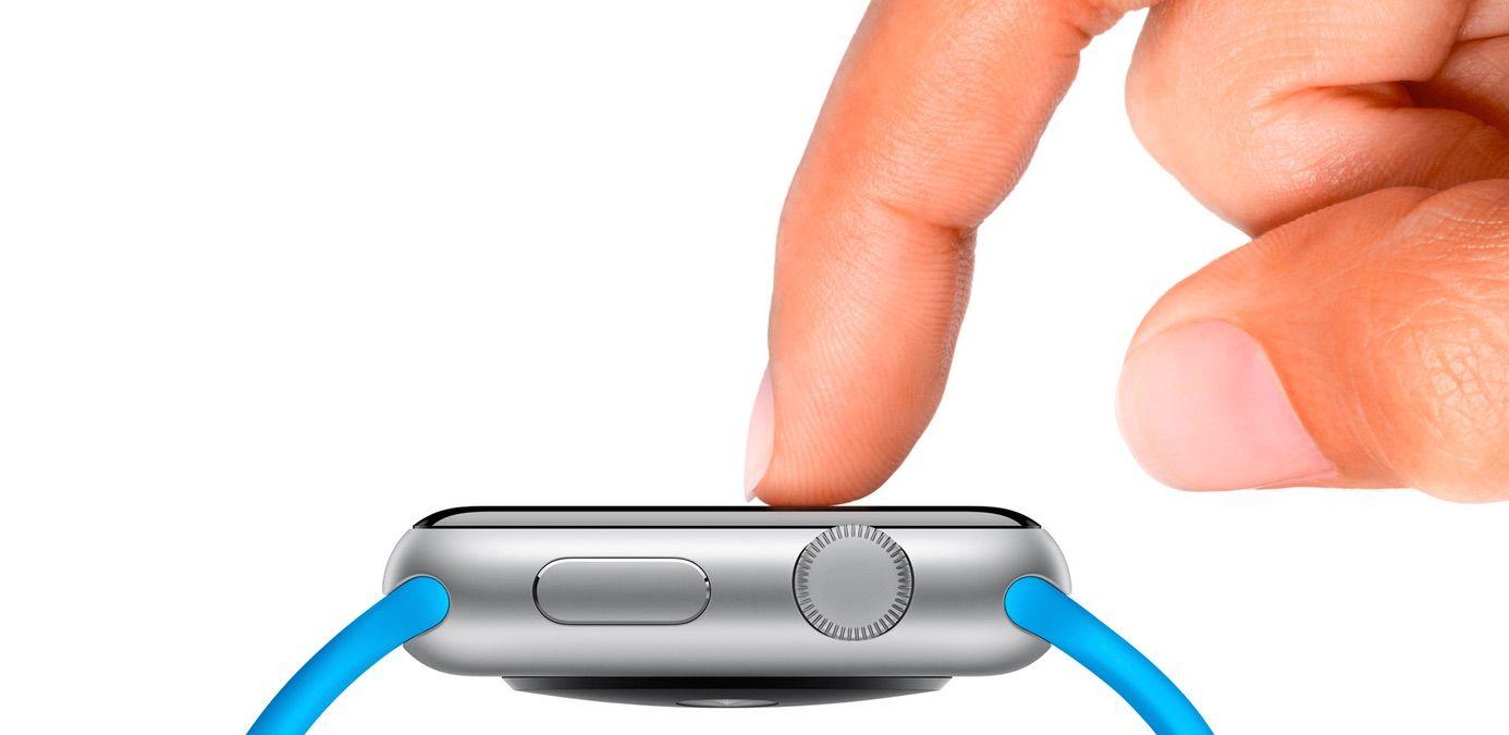 apple watch 3D touch - Apple Watch 2 : une montre plus fine et plus légère ?