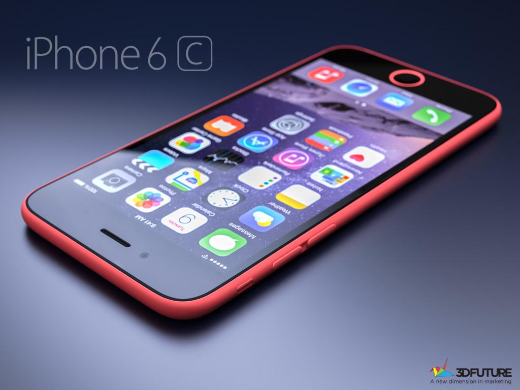 concept iphone 6c rouge 1024x768 - iPhone 6C : une sortie avec les iPhone 6S et 6 Plus confirmée ?