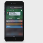 Concept : le Centre de Notifications sur iOS 9