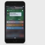 Concept : le Centre de Notifications sur iOS 9