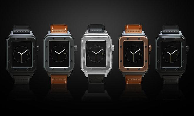 Banded : un boîtier étanche pour l'Apple Watch