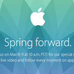 Keynote Apple : un streaming vidéo en direct le 9 mars