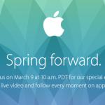 Keynote Apple du 9 mars : à quoi s'attendre ?