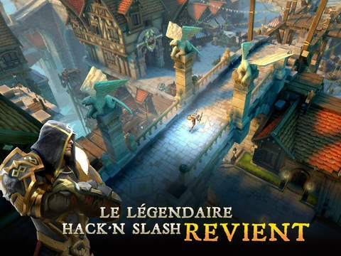 Dungeon Hunter 5 disponible sur iPhone & iPad