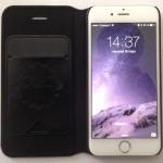 Test : Étui de Protection OUO pour iPhone 6 en cuir noir