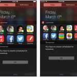 Launcher : l'application au widget indispensable sur iPhone (iOS 8)