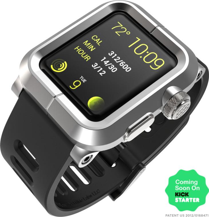 Lunatik Epik : une coque étanche pour la future Apple Watch