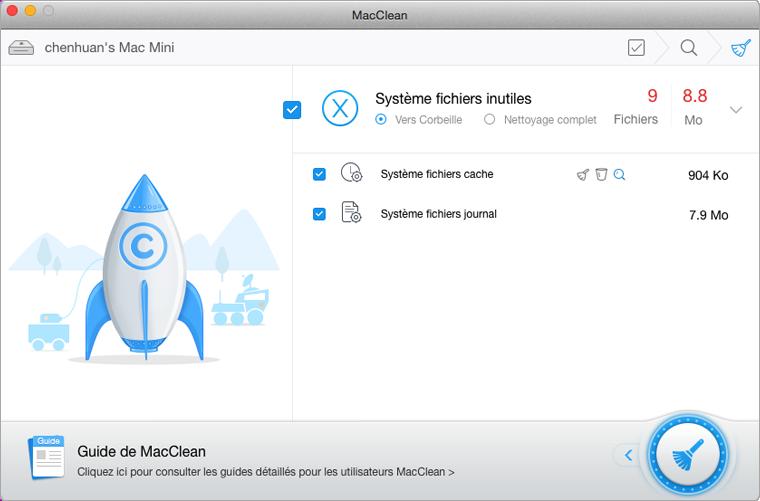 macclean   un logiciel gratuit pour nettoyer son mac