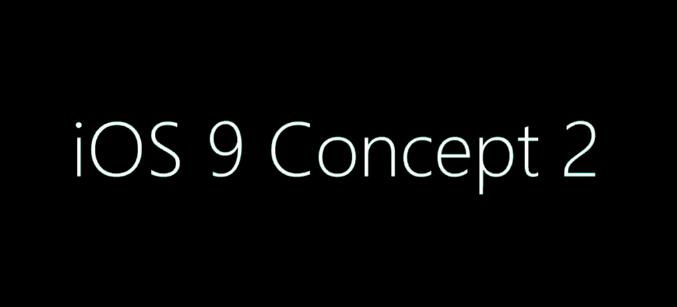 iOS 9 : nouveau concept vidéo par Ralph Theodory