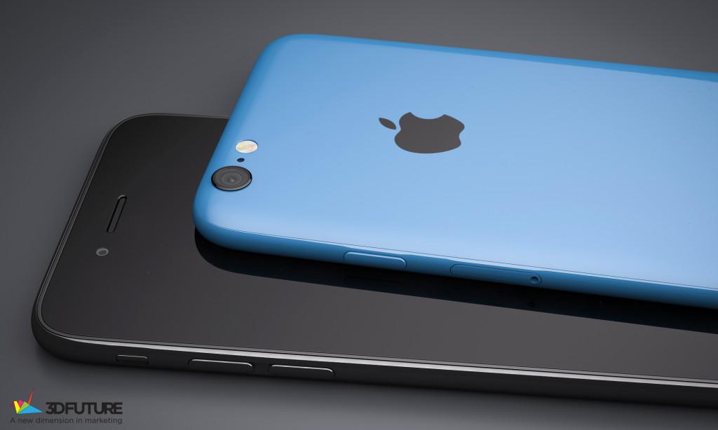 iPhone 6C bleu noir concept 1024x614 - iPhone 7C : écran 4 pouces & sortie au 1er trimestre 2016 ?