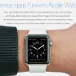 Apple Watch : Apple propose des tutoriels vidéo en français