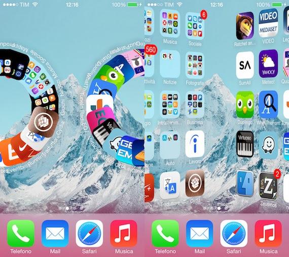 Cydia : Barrel, ajouter des transitions animées au SpringBoard (iOS 8)