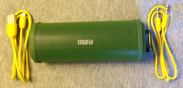 Test : enceinte Bluetooth portable MIFA F5 verte