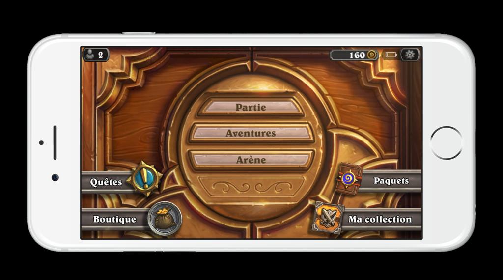 Hearthstone-iPhone-menu