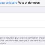 iOS 8.3 : le choix du réseau 2G/3G/4G disponible pour tous