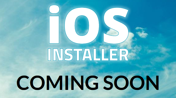 iOS-Installer-coming-soon
