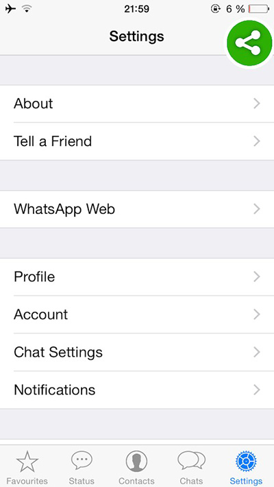 Tutoriel : activer WhatsApp web sur iPhone (iOS 8)