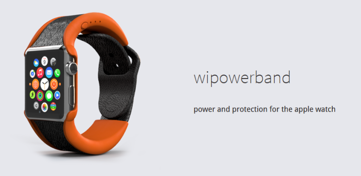 WiPowerBand : un bracelet pour augmenter l'autonomie de l'Apple Watch