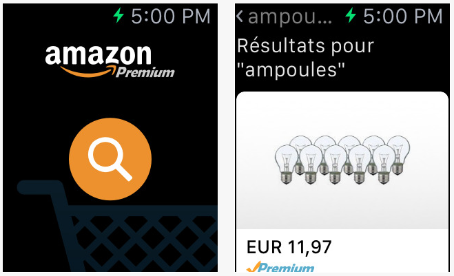 Amazon Apple Watch - Google Maps, Amazon & eBay délaissent l'Apple Watch