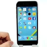 AndriOS, Android Lollipop sur iPhone (Thème Cydia iOS 8)