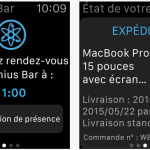 L'application Apple Store est disponible sur l'Apple Watch