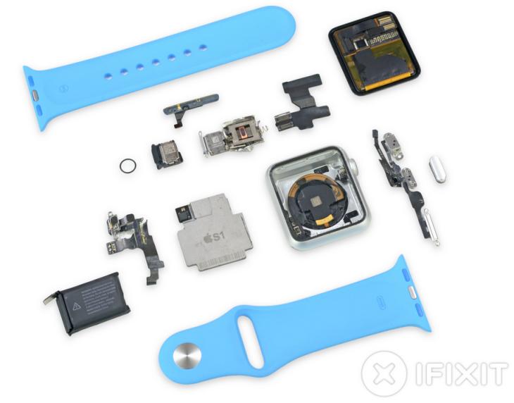 Apple Watch Sport : un coût de fabrication de 83,70 dollars