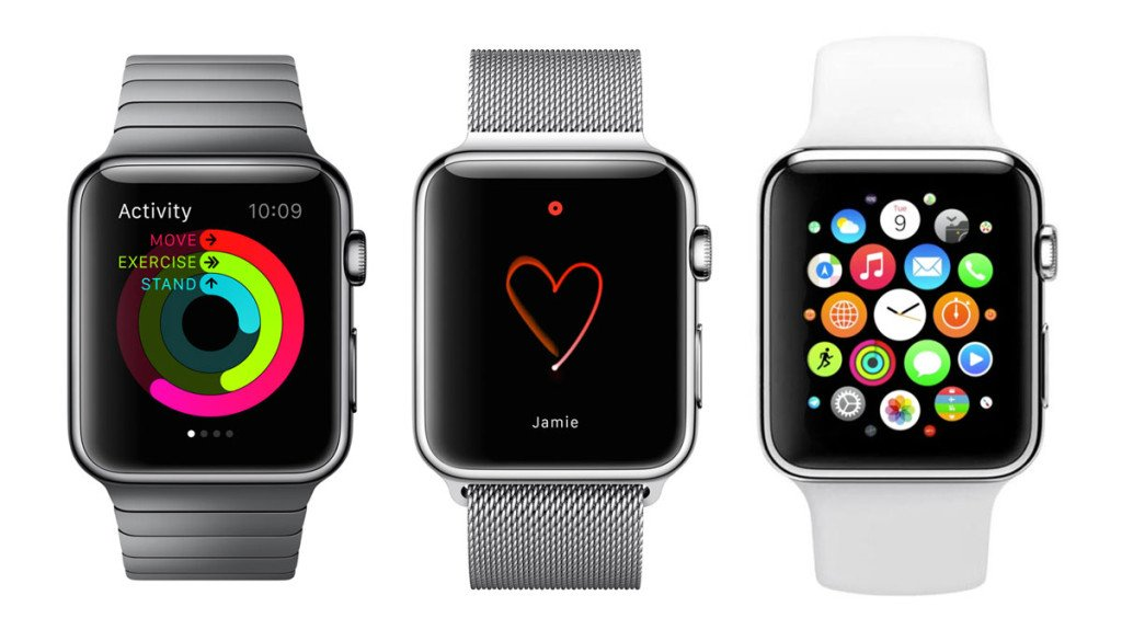 Apple Watch modeles 1024x585 - Apple Watch 2 : une sortie repoussée de mars à septembre 2016 ?