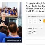 Apple : le déjeuner avec Tim Cook vendu 200 000 dollars