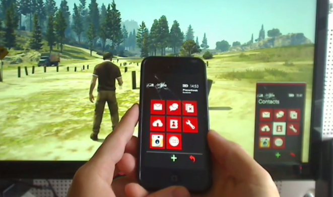 GTA 5 : contrôler le téléphone du jeu PC avec son iPhone