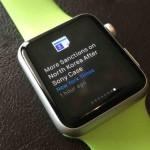 Google Actualités et météo disponible sur l'Apple Watch