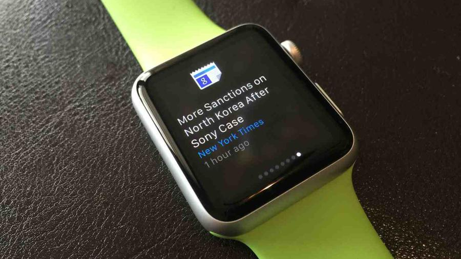 Google News Apple Watch - Google Actualités et météo disponible sur l'Apple Watch