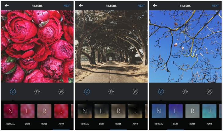 Instagram ajoute 3 filtres & supporte les Emoji en hashtag