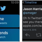Twitter est disponible sur l'Apple Watch